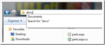 Inline autocomplete screenshot #2