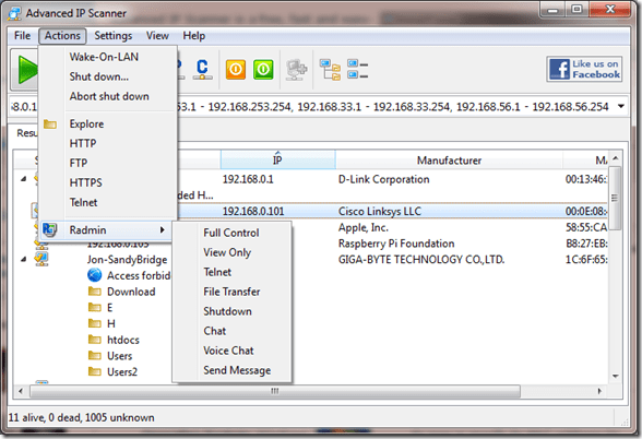 2012 07 17 2248 thumb - Advanced IP Scanner Is an Excellent Utility That Helps To Find All Local Network Devices