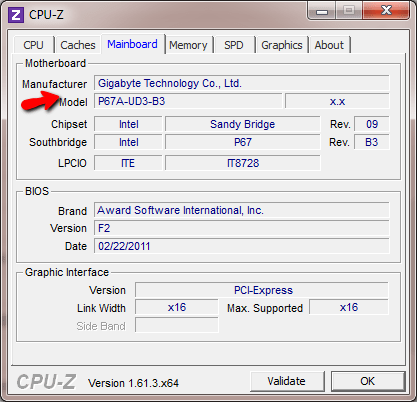 find out what motherboard is in my computer