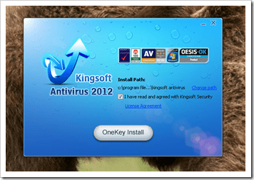 Kingsoft Antivirus 2012 Screenshot #2
