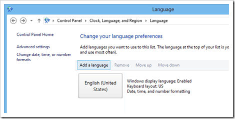 How To Add Chinese Input Method in Windows 8 - Next of Windows