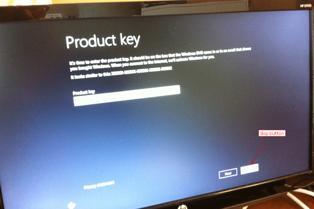 how to install windows 8.1 without product key youtube