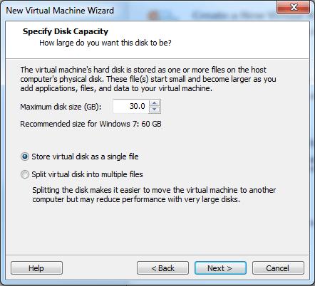 Windows 8 VMware Player set up #4