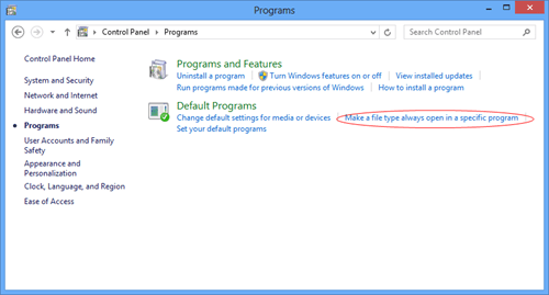 Change Default Programs thumb - How To Change Default MailTo Behavior in Windows 8