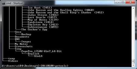 Command Prompt - tree