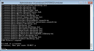 Windows 8 change default user profile rd