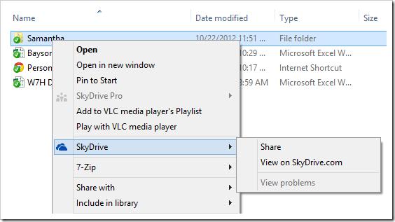 SkyDrive - Share