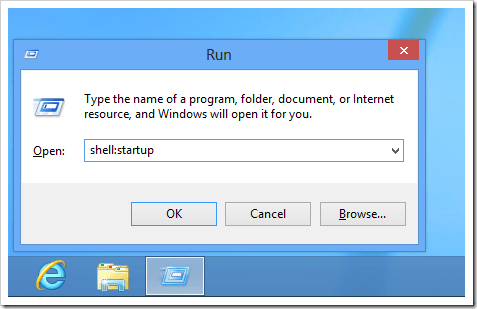 Windows 8 Shell startup thumb - Where is the Startup Folder in Windows 8 and How To Easily Access to it?
