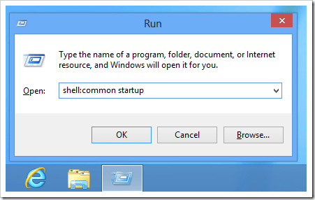 Windows 8 shell common startup thumb - Where is the Startup Folder in Windows 8 and How To Easily Access to it?