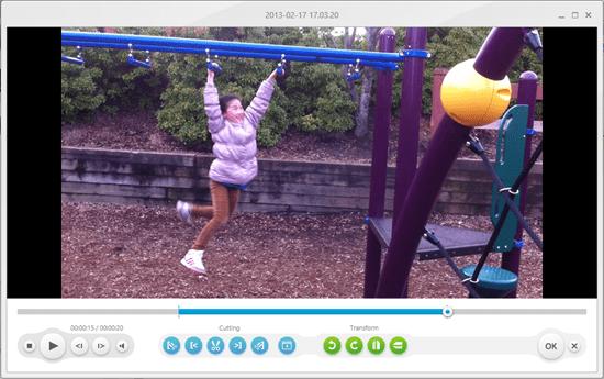 Freemake Video Converter - video splitting