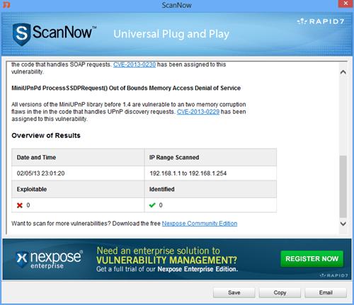 ScanNow - Result