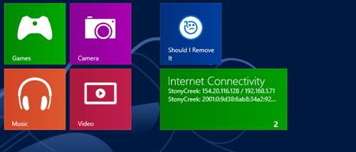 Windows 8 App - IP Address