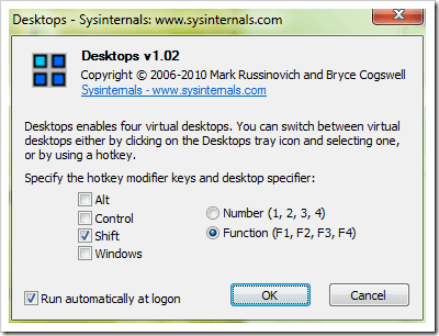 Desktops Provides You More Desktop Real Estate By Offering Up to 4 Virtual Desktops