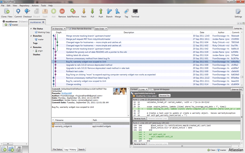 SourceTree For Windows The Best Git Client That Replaces Git