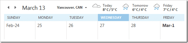 2013 03 06 1532 001 thumb - How To Change Outlook's Calendar Weather Temperature From Fahrenheit to Celsius
