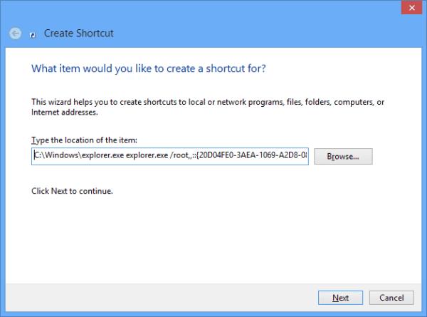 Add my computer tile on start screen - shortcut