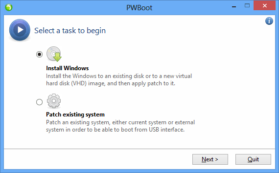 How To Easily Install Windows 7 & 8 onto An External USB Storage with PWBoot