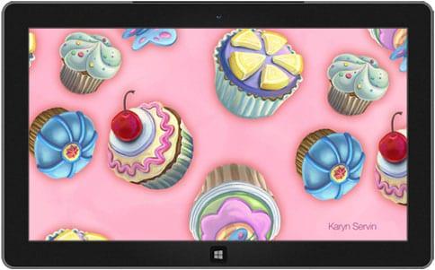 Delectable designs theme