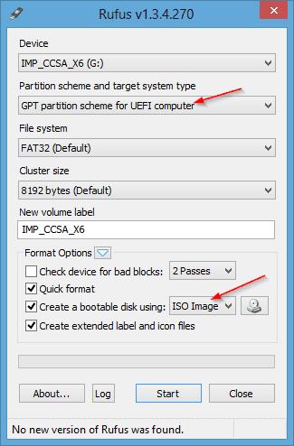 how to create uefi bootable usb to install windows 7