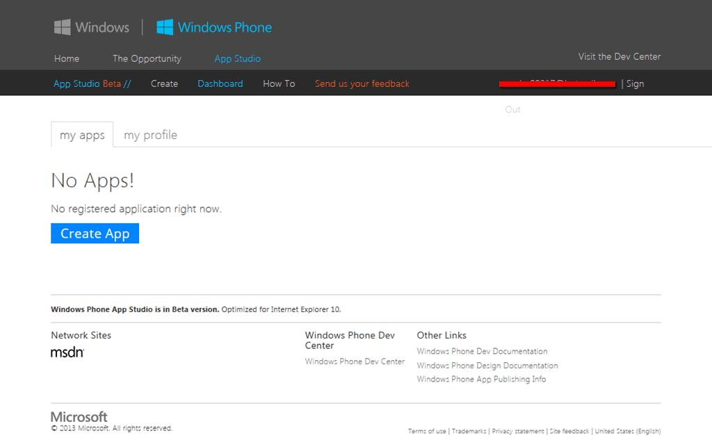 app aplikacija za Windows Phone 8