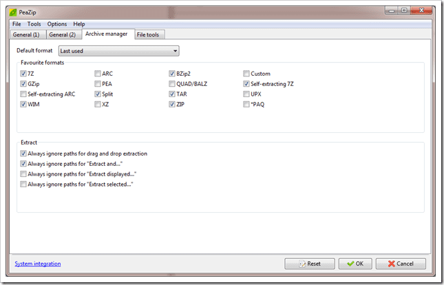PeaZip is a Modern ZIP Utility, an Alternative to WinRAR and