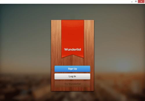Chrome Native Desktop App - Wunderlist