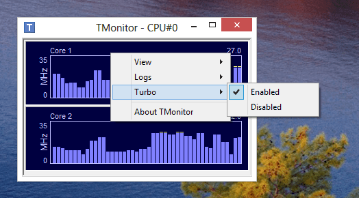 TMonitor - enable/disable Turbo