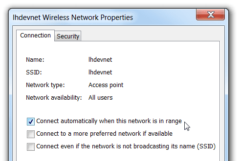 uncheck auto connect thumb - Why Windows 8 Wireless Keep Disconnecting - Top Five Troubleshooting Technique