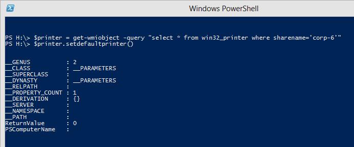 How To Set Default Printer During Login? - Next of Windows