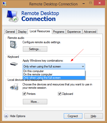Some New Features in New Remote Desktop Client You May Not