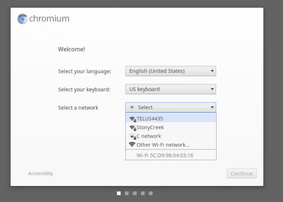 Chromium OS Welcome