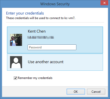 How To Save Password in A Remote Desktop Connection in