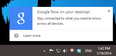 2014 01 19 1342 001 thumb - How To Start Use Google Now On Windows Desktop Right Now