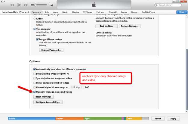 How To Completely Remove Voice Memo On iPhone Through iTunes and