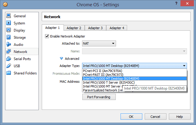 Running Chrome OS as Virtual Machine on VMware and VirtualBox - Next