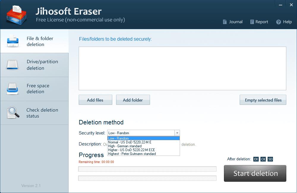 Jihosoft Free Eraser to Wipe Your Sensitive Data Permanently - Next