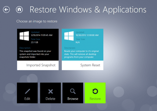 RecImg Manager restore with more images 600x426 - RecImg Manager to Easily Backup and Reinstall Entire Windows 8 System in Minutes