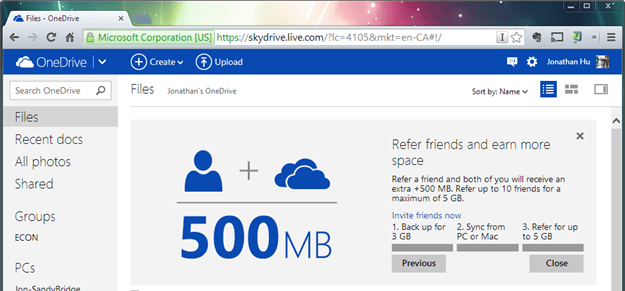 2014 02 19 0509 thumb - Microsoft's OneDrive Is Here - A Rebranded Version of SkyDrive Cloud Storage and More