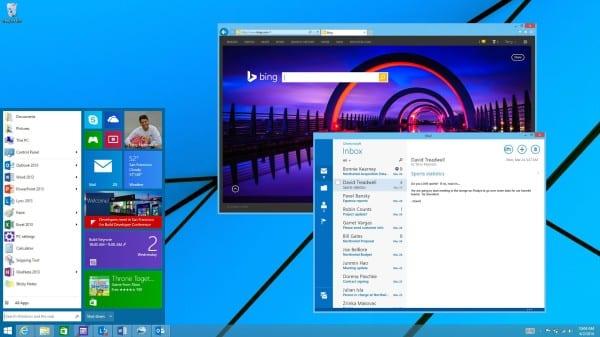 Start Menu in windows 8