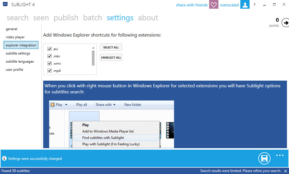 Sublight to Quickly Find and Download Subtitles for Your