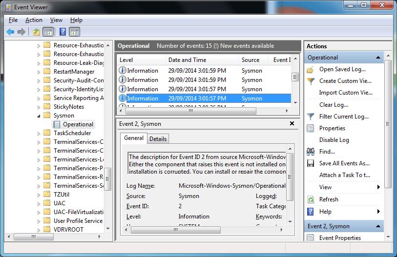 Windows Sysinternals New Utility - Sysmon - Next of Windows