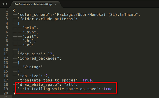 2014 10 20 1121 thumb - How To Configure Sublime Text Show/Hide and Remove Trailing Whitespaces On Save
