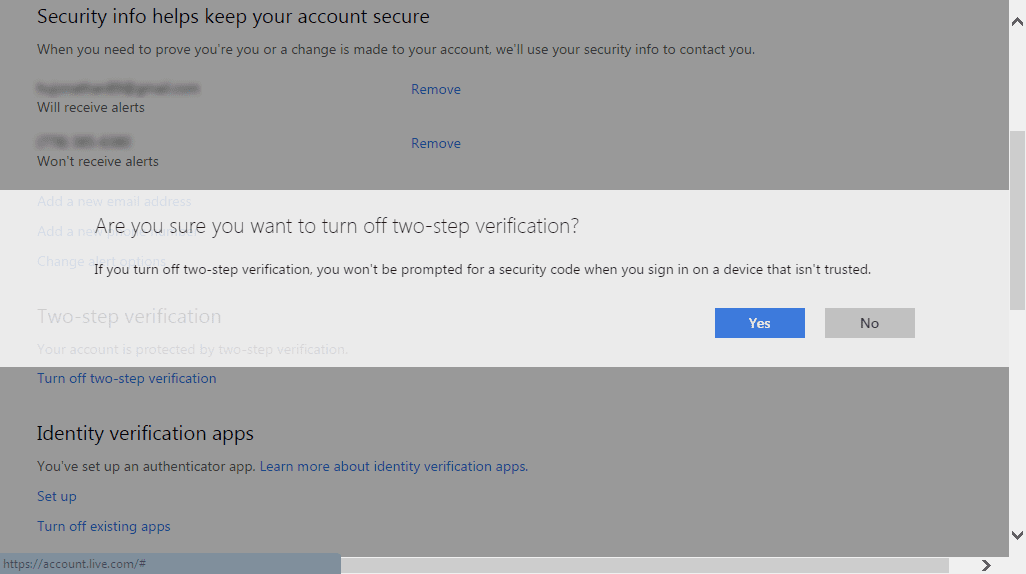 How To Fix Outlook Two Step Verification not Working on