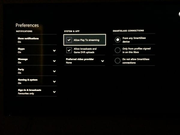 2014 12 14 00.04.25 600x450 - How To Stream Video / MP3 / Photos From PC to Xbox One