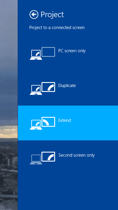 Add A Wireless Display is Missing in Windows 8 1 and How To