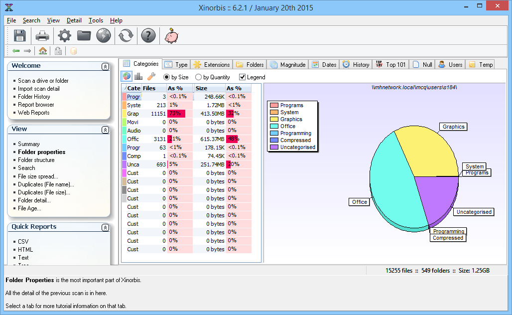5 Free Portable Folder Analysis Tools for Windows - Next of