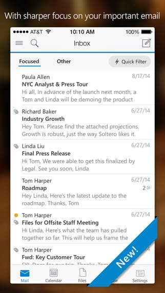 screen322x572 - Microsoft Outlook App Released for iOS and Android Devices