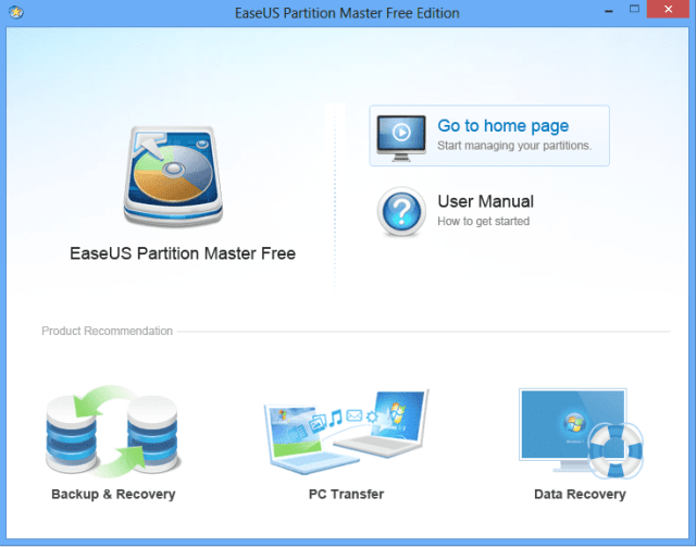 Partition-Master-Free-home