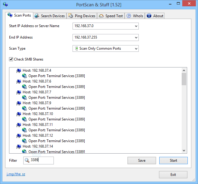 how to know which ports are open