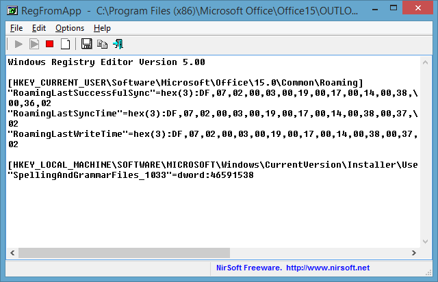 RegFromApp  -  C__Program Files (x86)_Microsoft Office_Office15_OUTLOOK.EXE - 2015-02-25 15_22_15